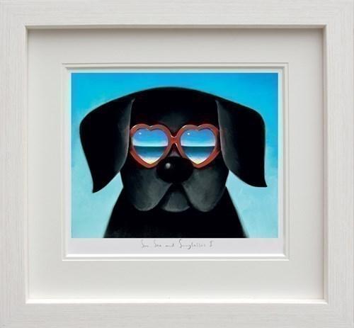 Image: ART00147384 (Sun Sea And Sunglasses I)